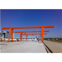 3-16t MH Model Electric Hoist (box-type) Gantry Crane