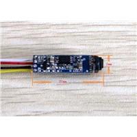 420,000-Pixel CMOS Camera Module Diameter 7mm with LEDs