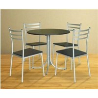 5 Pieces Metal Dining Sets