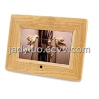 7 Inch Wood Multifunction Digital Photo Frame
