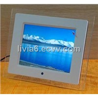 8 Inch Digital Photo Frame with Multi-Function