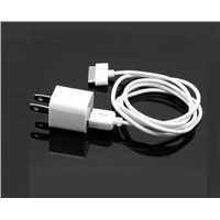 AC Wall Charger USB Sync Data Cable for iPhone 4 3G 3GS iPod