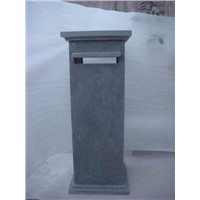 Chinese Blue Limestone Letter Box