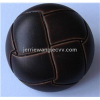Fake Leather Button