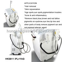 IPL+ND YAG Laser Multifunction Beauty Machine (HKS811)