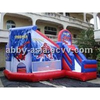 Inflatable Spiderman Bouncy Castle (BOU-1030)