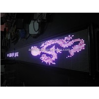 LED Displays for Red,Pink,Blue