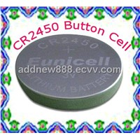 Lithium Button Battery (CR2450)