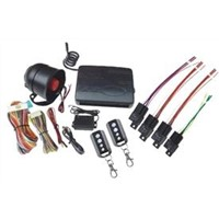 One Way Car Alarm System with Remote Engine Start