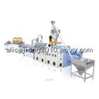 PP.PVC.PC Corrugated Sheet Extrusion Line