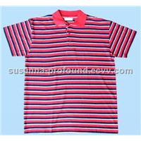 Stripe Mens Polo Shirt