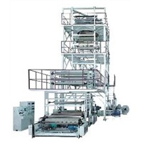 Three to Five Layers Co Extrusion Film Blowing Machine Set