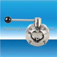Sanitary Stainless Steel Manual TC Butterfly Valve