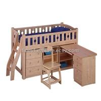 Loft Bunk Bed Desk