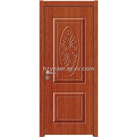 Red PVC Door