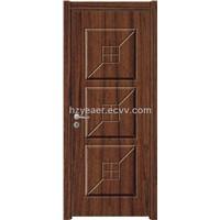 Red Wood Interior Door