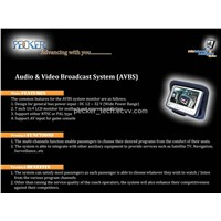 Audio & Video Broadcast System (AVBS)