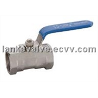 One Piece Ball Valve, 1pc Ball Valve