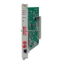 1*E1+1*V35 Fiber Optical Modem Card