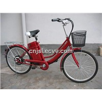 E-Bike - Simple, Red (JSL-TDH007B)