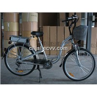 Two Batteries Alloy Electric Bicycle (JSL-TDH038XEA)