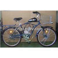 Blue Gasoline Bike (JSL-GE01, Rear Reack)