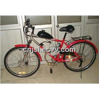 Gas Powered Bicycle with Rear Rack (JSL-GE02)