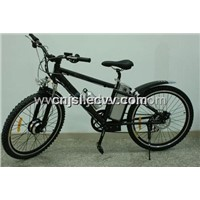Mountain Bicycle with Front Motor