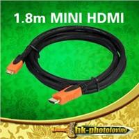 1.8m Mini HDMI to HDMI Digital Camera Conversion Cable / Mini HDMI Cable