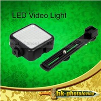 64 LED Camera Video Camcorder DV Lamp Light with Bracket