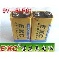 6lr61 Alkaline Battery for Microphone