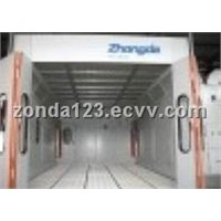 Benz Car Spray Booth Spray and Paint