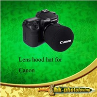 Camera Lens Sleeve Hat Cap Cover for Canon DSLR