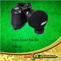 Camera Lens Sleeve Hood Hat Cap Cover for Nikon Lenses