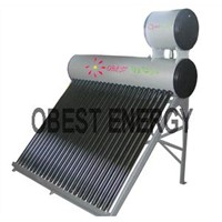Compact Unpressurized Solar Water Heater