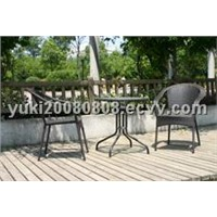 Garden Wicker Tables & Chairs