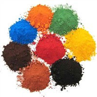 Iron Oxide Yellow Red Blue Green Black