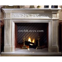 Popular Stone Fireplace Mantel