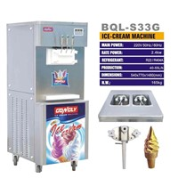 Soft Ice Cream Machine (BQL-S33G)