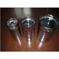 Stainless Steel Beer Keg 1/2 American