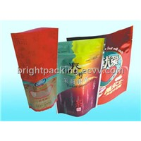 Stand up Zipper Bag