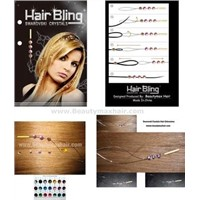 Swarovski Crystal Hair Extension