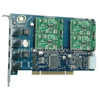 4 Ports 4FXS Asterisk Card (TDM400P)