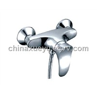 luxury chromed bath tap & mixer, zinc alloy handle