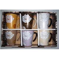 Ceramic Coffee Mugs Set