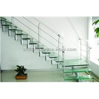 Firm Beech Wood Staircase