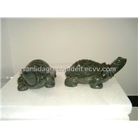 Green Granite Jade Amimals