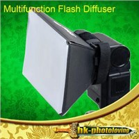 iShoot Universal Flash Diffuser Soft Box Softbox for Speedlite
