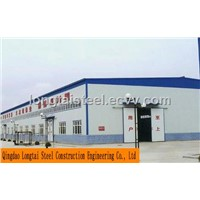 Steel Structure Warehouse Workshop Showroom