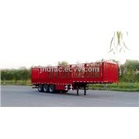 Three Axles Box Semi-Trailer - 35 Tons